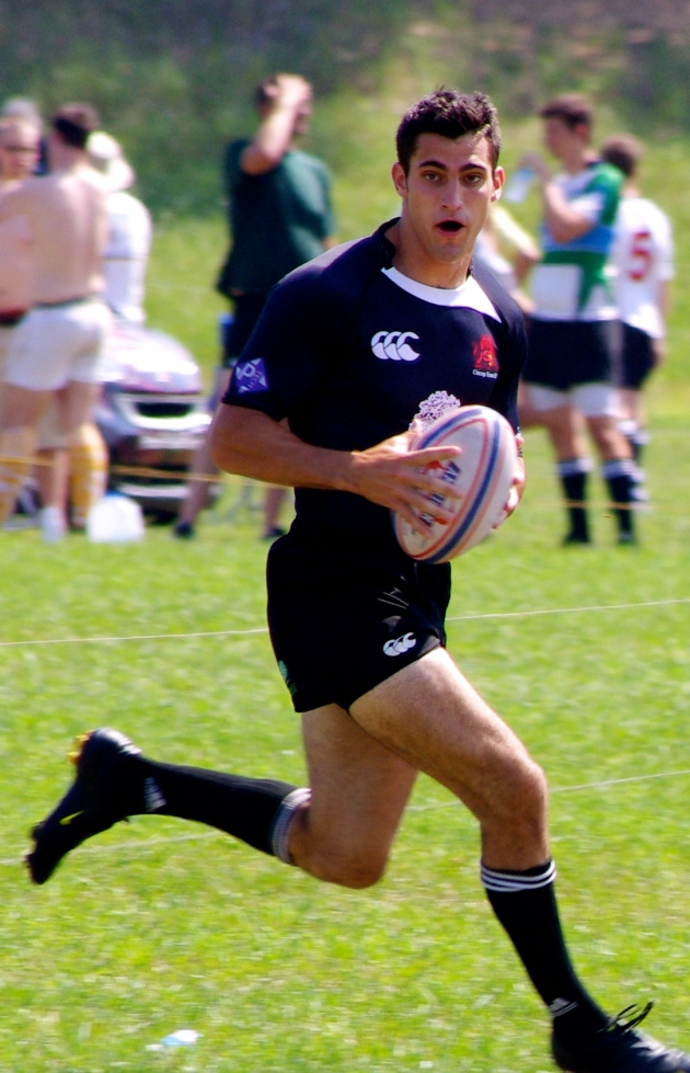 Rocco Mauer playing the Midwest Sevens Circuit